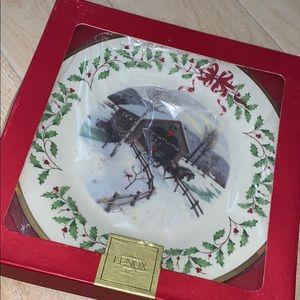 2007 Lenox Christmas plate